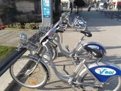Bicicletas do sistema Veol - Caen